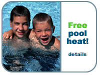 Get free pool heating with your Orlando Vacation Home Rental!  Click for details